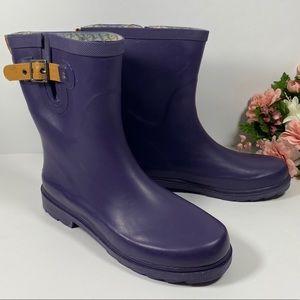 Crooka Ultra Violet Mid Rain Boots